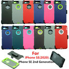 For Apple iPhone SE 2020 Case w/ Screen & Belt Clip fits Otterbox Defender