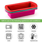 Silicone Bread Loaf Cake Mold Non Stick Baking Pan Oven Rectangle Mould Bakeware for sale  Shipping to Nigeria