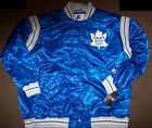 TORONTO MAPLE LEAFS STARTER Satin Jacket Traditional BLUE SMALL, XL $85.99 USD on eBay