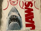 JAWS movie 2 3 GREAT WHITE shark HORROR Vintage Retro MEN'S New TANK TOP T-Shirt image