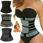 Women Waist Trainer Neoprene Belt Sweat Body Shaper Tummy Control Girdle US