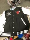 ADDIDAS CHICAGO BULLS JACKET MENS BLACK/WHITE/RED OFFICIAL NBA on eBay