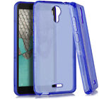 Tempered Glass + TPU Flexible Gel Cover Phone Case For Wiko Life 2 u307as