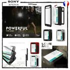 Case Cover Anti-shock Unbreakable LOVE MEI Shockproof Shell sony Xperia