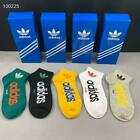 5 Pack Mens Womens Cotton Classic Socks Crew Ankle Liner Cotton Sports Socks New