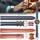 Genuine Leather WristWatch Watch Straps 8mm 10mm 12mm 14mm 16mm 18mm 20mm 22mm