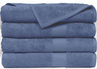 "SPRINGFIELD LINEN Premium Hotel  Spa Bath Towel Cotton 30"" x 56"",Set of 4"