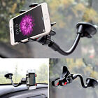 US Car Auto Accessories 360° Rotating Mobile Phone Windshield Mount GPS Holder