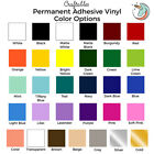"Craftables Adhesive Vinyl Roll 12"" x 10' Permanent Craft Outdoor for Cricut"