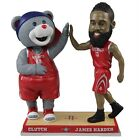 Houston Rockets Clutch James Harden Mascot Player High Five Bobblehead NBA on eBay