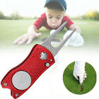 Foldable Golf Divot Tool Golf Ball Tool Pitch Groove Cleaner Golf Training Aids