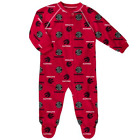 Toronto Raptors Basketball Infant Printed All Over Logo Red Raglan Zip Coverall on eBay