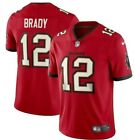 Tom Brady #12 Tampa Bay Buccaneers Jersey Red S-2XL!!!! $54.99 USD on eBay