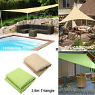 Sun Shade Sail UV Block Canopy Patio Lawn Pool Awning Top Cover Outdoor 12' US