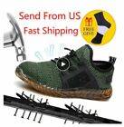 Indestructible Work Shoes Men And Women Steel Toe Air Safety Boots