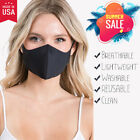 Face Mask Set Of 5, Lightweight, Breathable, Reusable Made In Usa,