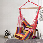 Hammock Chair Hanging Rope On The Yard Tree Hanging Air Swing Seat Rope Chair