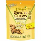 Prince of Peace Ginger Chews Natural Original,Lemon,Lychee,Mandarin Orange 4oz