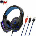 Ultralight Gaming Headset for Cpmputer PC Noise Cancelling with Mic LED Light