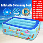 Large Swimming Pool Garden Family Summer Inflatable Kid Outdoor Paddling Pools