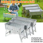 BBQ Barbecue Grill Folding Portable Charcoal Stove Camping Smoker