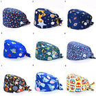 Unisex Medical Surgery Hat Printing Doctor Dental Clinic Surgical Nurse Cap Hats