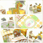 Party DIY Baby Shower Square Case Safari Animal Chocolate Bag Candy Box