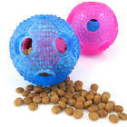 Rubber Durable Base Ball Dog Training Chewing Toy Pet Toys Food Ball Chew T O1U1