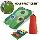 Swing Rod Golf Training Aid Hitting Net Straw Mat Indoor Golf Practice Board