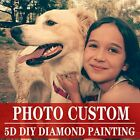 DIY 5D Full Drill Photo Custom Diamond Painting Embroidery Kit Make Your Own