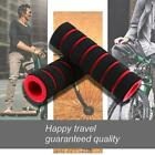 1pair Sponge Foam Bicycle Handle Bar Grip Cover For Yellow Riding Mountain T7e9