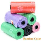 1/4/6/8/10X Bunty Dog Pets Puppy Poo Poop Waste Toilet Strong Large Bags Roll