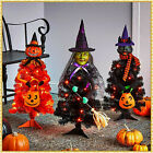 Kyпить LED Lighted Halloween Character Tree WITCH PUMPKIN OR CAT Haunted House Decor на еВаy.соm