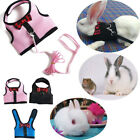 Rabbit Mesh Harness With Leash Vest Coat Small Animal Lead Strap Pet Gift Hot
