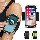 """Gym Running Jogging Sports Armband Bag Case Holder Cover For 4""""-6.5  Cell Phone"""