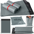 "13"" x 28"" Grey Mailing Packing Bag Strong Poly Postal Postage Post Mail Bags Uk"