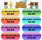 Kyпить Animal Crossing:New Horizons!! Bells and Nook Miles Tickets!! INSTANT DELIVERY!! на еВаy.соm