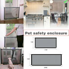 Quality Install Folding Safety Guard Mesh Net Pet Dog Cat Stair Door Fence Gate