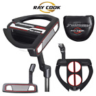 "Ray Cook Silver Ray SR900 Golf Putter , 34"" or 35"" & Cover, Mens Right Hand NEW!"