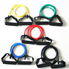 Resistance Band Durable Muscle Pull Rope Indoor Home Gym Fitness Workout 5-30LBS image