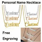 Kyпить Personalized Silver Name Stainless Steel Letter Custom Pendant Necklace Choker на еВаy.соm