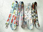 lot Cartoon Cat and mouse Neck Straps Key Chains Lanyard ID Holder