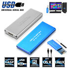 High Speed HDD Hard Drive M.2 NGFF TO USB3.0 SSD SATA Mobile Disk External Case