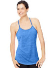 Hanes Sport Womens Performance Strappy Tank 4-Colors Size XXL XL Lg Med Small