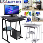 Modern Computer Study Student Desk Laptop Table with Shelf Home Office Furniture