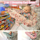 Unisex Baby Shopping Cart Cover Germ-Free High Chair Seat Protector Multicolor
