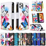 For iPhone Pro Max XR SE2 8 Luxury Pattern Leather Stand Wallet Flip Case Cover
