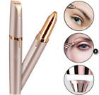 Electric Eyebrow Trimmer Finishing Touch Flawless Brows Hair Remover LED Light