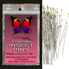 Entomology Insect Pins,STAINLESS,size from 000-7, 100pcs 1pkt WORLD TOP QUALITY