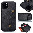 For Iphone 12 Pro Max Mini 11 Xs Max Xr X 7 8 Leather Card Slot Stand Case Cover